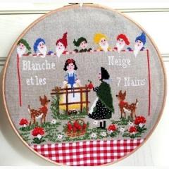 Blanche Neige - Stickvorlage Lilli Violette