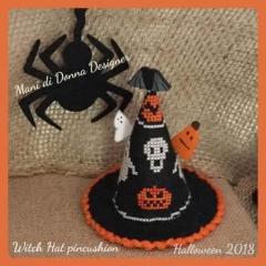 Witch Hat Pincushion - Kreuzstichvorlage Mani Di Donna