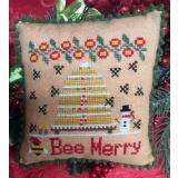 Needle Bling Designs Stickvorlage Bee Merry