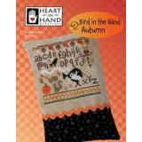 Bird In The Hand - Autumn (w/embellishment) - Kreuzstichvorlage Heart In Hand