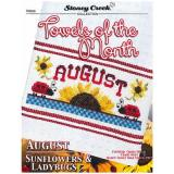 Kreuzstichvorlage Stoney Creek - Towels Of The Month August