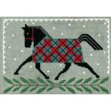 Artful Offerings Stickvorlage Horse Country Holiday