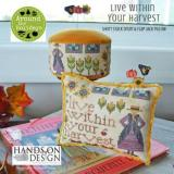 Live Within Your Harvest (includes Velveteen) - Stickvorlage Hands On Design