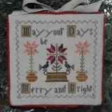 Merry And Bright - Stickvorlage Abby Rose designs