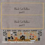 Barbara Ana Stickvorlage Black Cat Hollow Teil 3