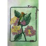 Tufted Coquette (2018 Commemorative) - Kreuzstichvorlage Crossed Wing Collection