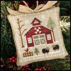 Farmhouse Christmas 9 - Ba Ba Black Sheep - Stickvorlage Little House Needleworks