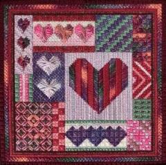 Holiday Delights - ValentinesDay - Stickvorlage Needle Delights Originals