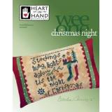 Christmas Night (w/emb) - Kreuzstichvorlage Heart In Hand