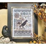 Nevermore - Stickvorlage by Lilas Studio