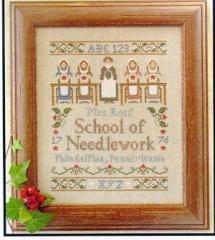 Needlework School - Stickvorlage Little House Needleworks