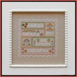 Sweet Sampler - Stickvorlage Country Cottage Needleworks