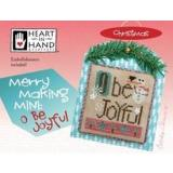 Merry Making Mini - O Be Joyful (w/embellishments) - Kreuzstichvorlage Heart In Hand