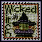 Hinzeit Stickvorlage Word Play Wicked Witch