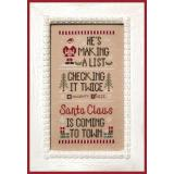 Kreuzstichvorlage Country Cottage Needleworks - Santas List
