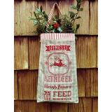 Carriage House Samplings Stickvorlage Reindeer Feed Sack
