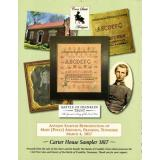 Carter House Sampler 1817 - Kreuzstichvorlage Cross Stitch Antiques