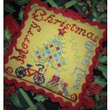 Tempting Tangles Stickvorlage Merry Christmas With Love