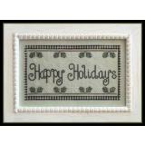 Kreuzstichvorlage Country Cottage Needleworks - Happy Holidays