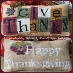 Thanksgiving Pillows - Kreuzstichvorlage Mani Di Donna