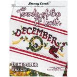 Towels Of The Month - December - Kreuzstichvorlage Stoney Creek