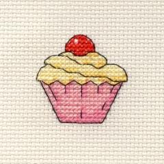 Cupcake - Stickpackung Mouseloft mit Aida