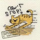 Can't Stop! - Stickpackung Mouseloft mit Aida