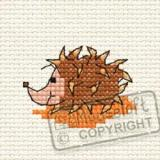 Harriet Hedgehog in the Woods - Stickpackung Mouseloft mit Aida