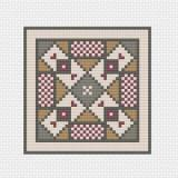 Works by ABC Stickvorlage Anitoch Mosaic Quilt Block