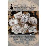 Festive Little Fobs 12 - Coffee Edition - Kreuzstichvorlage Heartstring Samplery