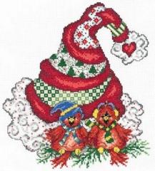 Holiday Tweet Hearts - Stickvorlage Imaginating