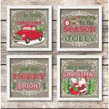 Christmas Signs - Stickvorlage Tiny Modernist Inc