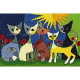 Kreuzstichpackung Bothy Threads - Rosina Wachtmeister - Five Cats
