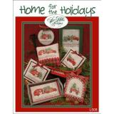 Sue Hillis Stickvorlage Home For The Holidays
