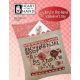 Heart In Hand Needleart Stickvorlage Bird In The Hand Valentines Day