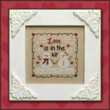 Kreuzstichvorlage Country Cottage Needleworks - Love Is In The Air