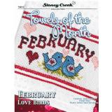 Kreuzstichvorlage Stoney Creek - Towels Of The Month February