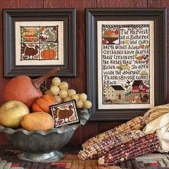 Kreuzstichvorlage Prairie Schooler - Thanksgiving Comes Again