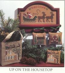 Kreuzstichvorlage Prairie Schooler - Up on the Housetop
