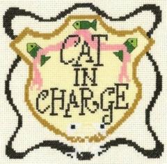 Kreuzstichvorlage Imaginating - Cat in Charge
