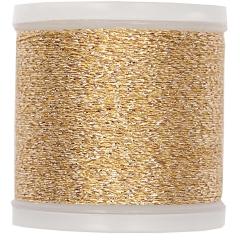 Stickgarn Rico Design Metallgarn - Farbe  941 gold