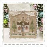 Kreuzstichvorlage Country Cottage Needleworks - Glitter House 5