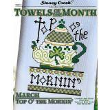 Kreuzstichvorlage Stoney Creek - Towels Of The Month March