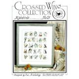 Crossed Wing Collection Stickvorlage Alphabirds