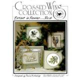 Kreuzstichvorlage Crossed Wing Collection - Extinct Is Forever