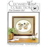 Crossed Wing Collection Stickvorlage First Encounter
