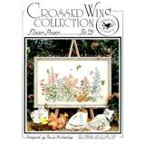 Crossed Wing Collection Stickvorlage Flower Power
