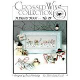 Crossed Wing Collection Stickvorlage A Frosty Feast