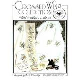 Crossed Wing Collection Stickvorlage Wood Warblers I
