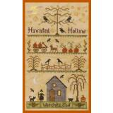 Elizabeths Designs Stickvorlage Haunted Hollow
